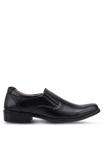 Rocklander black Slip On Formal Shoes 9C50ESH35CFE64GS_1
