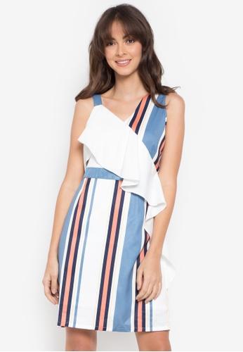 Plains & Prints white Arceline Sleeveless Dress 8BD09AA1EA0141GS_1