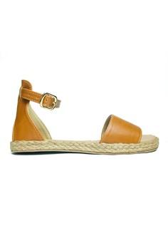 Amarah Ankle Strap Flats Sandals