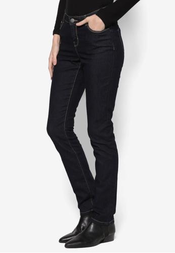 Dorothy Perkins blue and navy Regular - Indigo Straight Jeans DO816AA76FBZMY_1