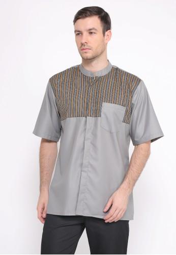 Allev grey Azmi Shirt Abu 81B6CAAFBA72A5GS_1