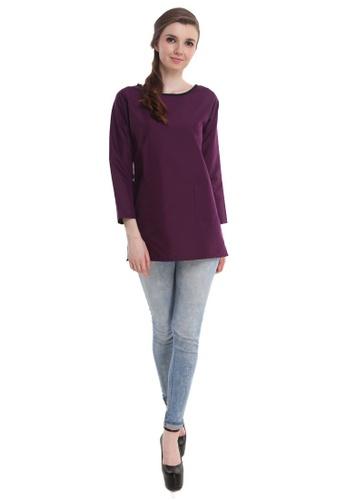 Amar Amran purple Kurti Hannah 2B054AAD85D6AAGS_1