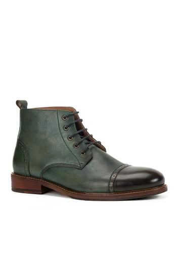 Twenty Eight Shoes Maple復古真皮英倫短靴618-52 AA2FFSH23DEE67GS_1