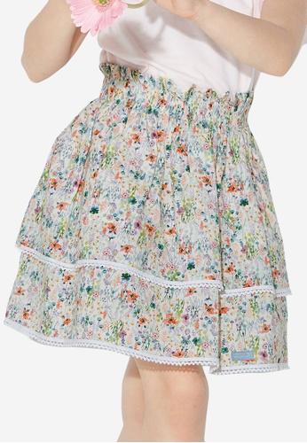 Kingkow multi Cotton Skirts 4-10 years 8DFF0KA6AB4B4DGS_1