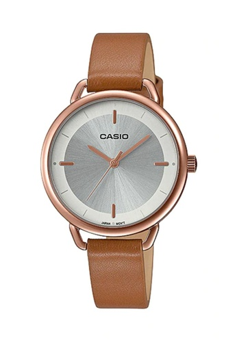 Casio brown CASIO Women Watch LTP-E413PL-7ADF 64878AC4E10381GS_1
