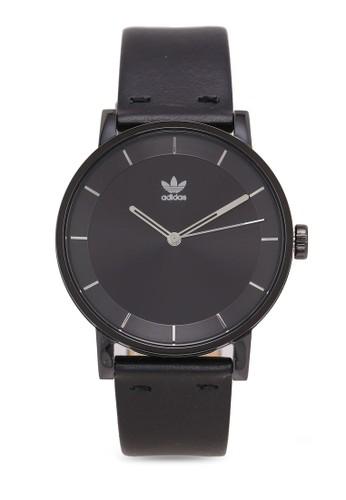 adidas black adidas originals District L1 Watch 8A983AC86F64CEGS_1