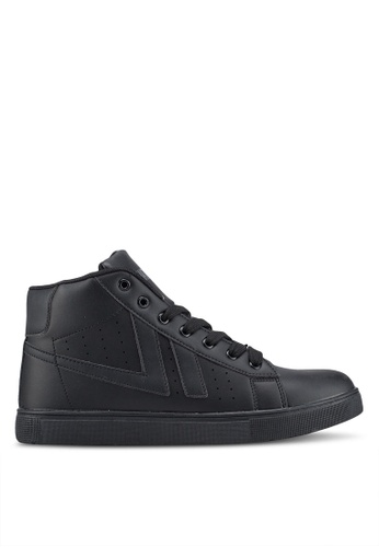 Rocklander black High Top Sneakers A6DAASH553434EGS_1