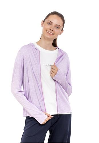 Huitieme purple HUITIÈME DRY TOUCH UV CASUAL LAVENDER PARKER. 3541AAAB774125GS_1