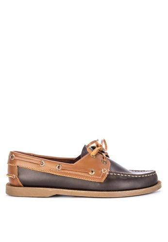 Brogue & Derby multi Dorset Genuine Leather Boat Shoes 692F6SH3E869C3GS_1