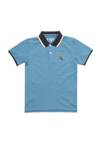 Giordano green Deer Junior Polo Shirt 613D0KAEA2EF7FGS_1
