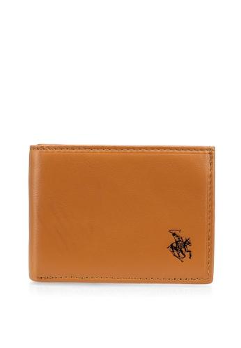 Swiss Polo brown RFID Casual Wallet 10DCDAC66D1F02GS_1
