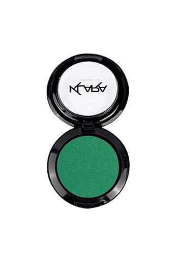 KLARA COSMETICS green Matte Eyeshadow #28 - Euphoric Emerald 3186DBECF48171GS_1