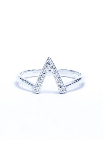 671b55748b26 Shop Sopistikada Volta 925 Sterling Silver Ring Size 5 by Argento Online on  ZALORA Philippines