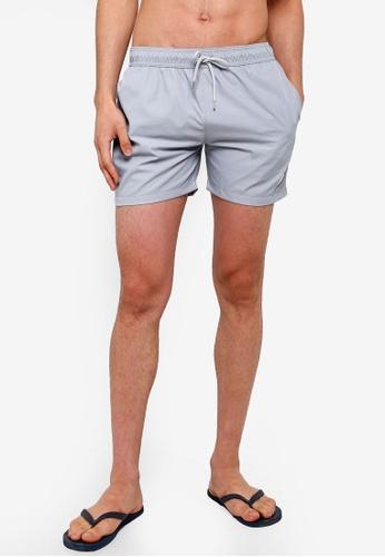 f5d65c21da Buy Topman Grey Swim Shorts Online on ZALORA Singapore