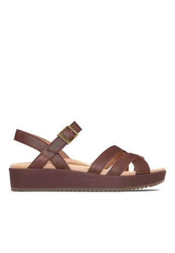 Vionic brown Violet Platform Sandal 6A68FSH0104BA1GS_1