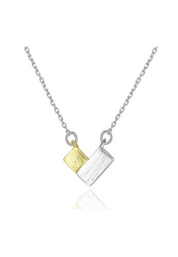 SUNRAIS silver Premium Silver S925 Silver Heart Necklace 2E713ACFC9E9EFGS_1