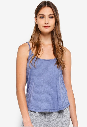 Cotton On Body blue Rib Sleep Tank Top 0CE0CAA4D525B3GS_1