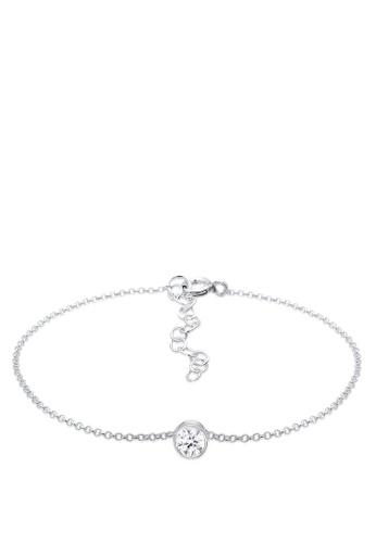 ELLI GERMANY silver Bracelet Solitaire Crystal 1A467AC734B91CGS_1