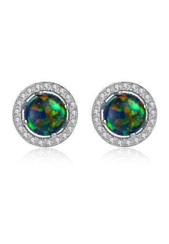 SUNRAIS silver High quality Silver S925 silver simple design earrings 0B9F4AC991D31CGS_1