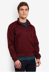 Topman red Burgundy Jacket TO413AA0SAF2MY_1