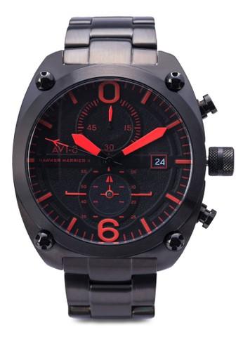 Hesprit tote bagawker Harrier II 不銹鋼大腕錶, 錶類, 奢華型