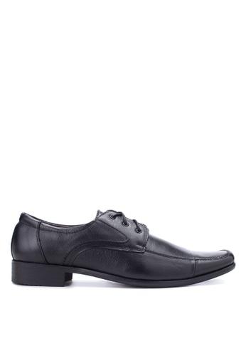 Brogue & Derby black Fievel Formal Shoes BR611SH10EBLPH_1