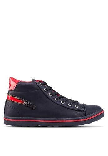 Sammoni black Casual Sneakers SA969SH99SOYMY_1
