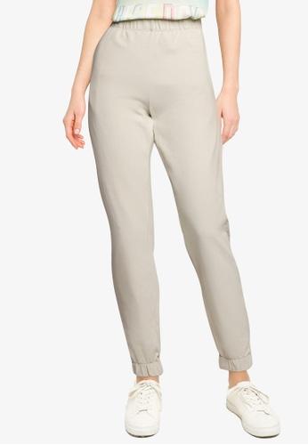 LC Waikiki grey Elastic Waist Sweatpants EDD3EAA6710FA0GS_1
