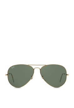 Ray-Ban yellow Aviator Large Metal II RB3026 Sunglasses RA370GL23SAYSG 1 5924b330fc7e
