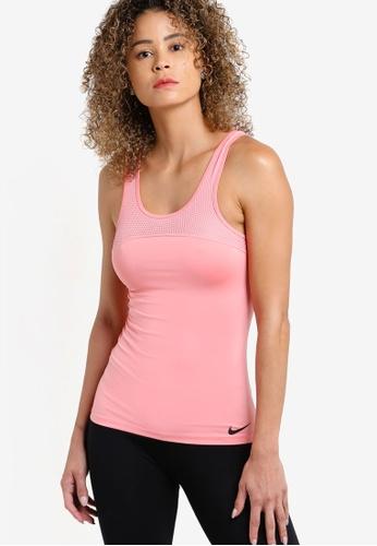 Nike pink Women's Nike Pro Hypercool Tank Top NI126AA68YWPMY_1