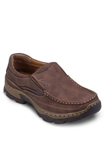 沖esprit tsim sha tsui孔配色厚底樂福鞋, 鞋, 鞋