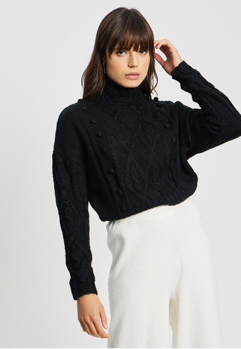 BWLDR black Swift Knit Pullover 88284AAC118268GS_1