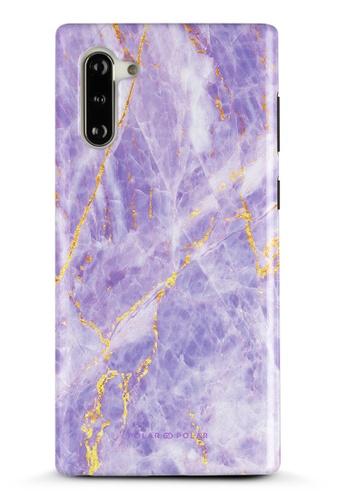 Polar Polar purple Princess Purple Samsung Galaxy Note10 Dual-Layer Protective Phone Case (Glossy) 28C94AC7016703GS_1