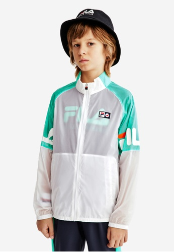 FILA white FILA KIDS FILA x STAPLE Transparent Jacket 8-15yrs 95996KA13982A9GS_1