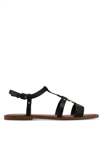 ALDO 黑色 Chickasaw Flat Sandals AFD64SH31FDBE9GS_1