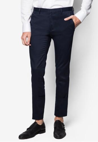 超窄管西裝長褲, 服飾, 超esprit sg貼身版型