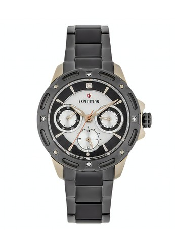 Expedition grey Expedition Jam Tangan - Grey Rosegold - Stainless Steel - 6760 BFBGCBU  1B07AAC41C0A42GS_1