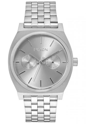 Nixon silver Nixon - TimeTeller Deluxe - All Silver NI855AC54SYBSG_1