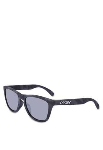 Oakley black Oakley Performance Lifestyle Frogskins OO9245 Sunglasses A3162GL1F38826GS_1