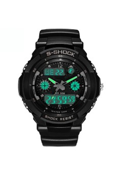 LED Quartz Digital Sports Watch ZG507