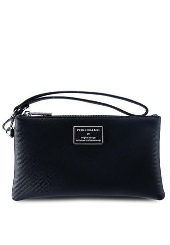 Shop Perllini Mel Faux Leather Clutch Wristlet Online on ZALORA Philippines dcfd4722b9061