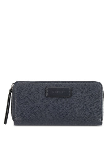 Esprit navy Small Faux Leather Wallet 77F7CACB0AD3B2GS_1
