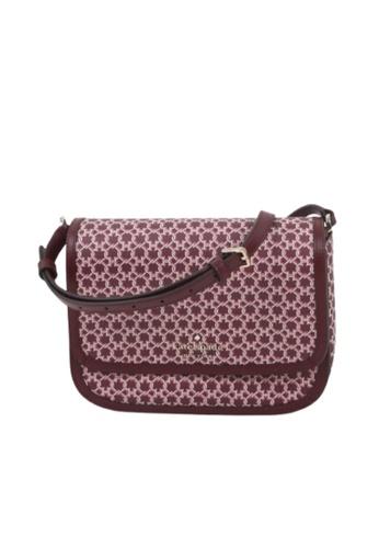 KATE SPADE pink Kate Spade Spade Link WKR00189 Saddle Bag In Pink Multi 673 1F8ACAC6B8DE1FGS_1