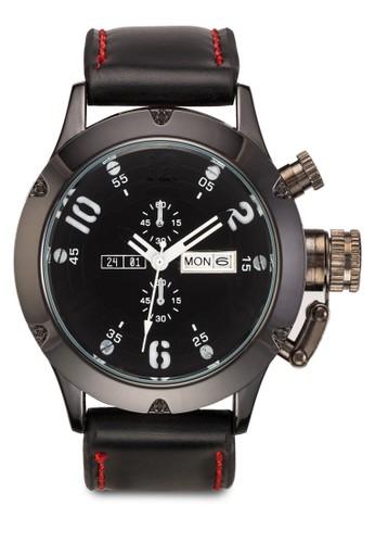 PU 錶帶撞色手esprit hong kong 分店錶, 錶類, 飾品配件
