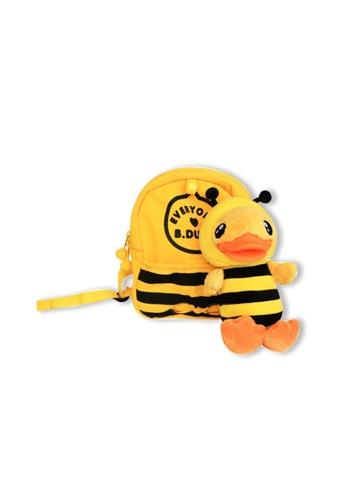 B.Duck yellow B.Duck Kids Backpack (Bee) 886D3KC328DDC7GS_1