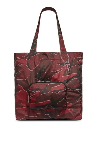 Coach red Packable Tote Bag (cv) F930AAC3E509CBGS_1