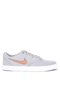 dd7933cb1 Nike grey Nike Sb Check Solarsoft Canvas Shoes 4F0F3SH7EC989BGS 1
