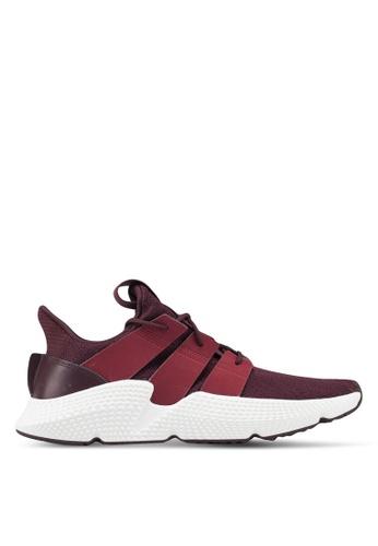adidas red adidas originals prophere sneakers 6B971SH14C6777GS_1