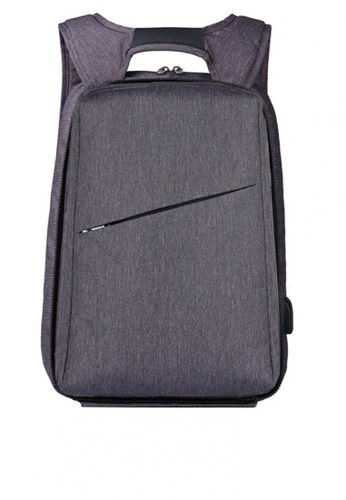 All Things New grey XQXA Backpack USB Anti Theft Computer Bag Rucksack Water-resistant School Backpack FC70AACE885CC0GS_1
