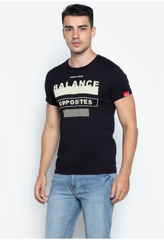 0f4bb62ab99cc Urban Edge Clothing black Round Neck Graphic T-Shirt 48792AA5F37C82GS 1
